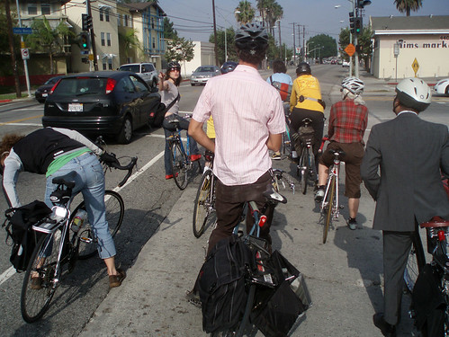 June Ride with LA Bicycle Coalition