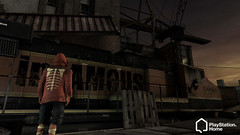 inFAMOUS in PlayStation Home
