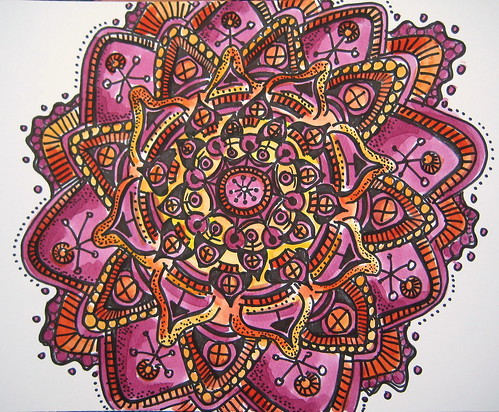Ink & Paint Mandala