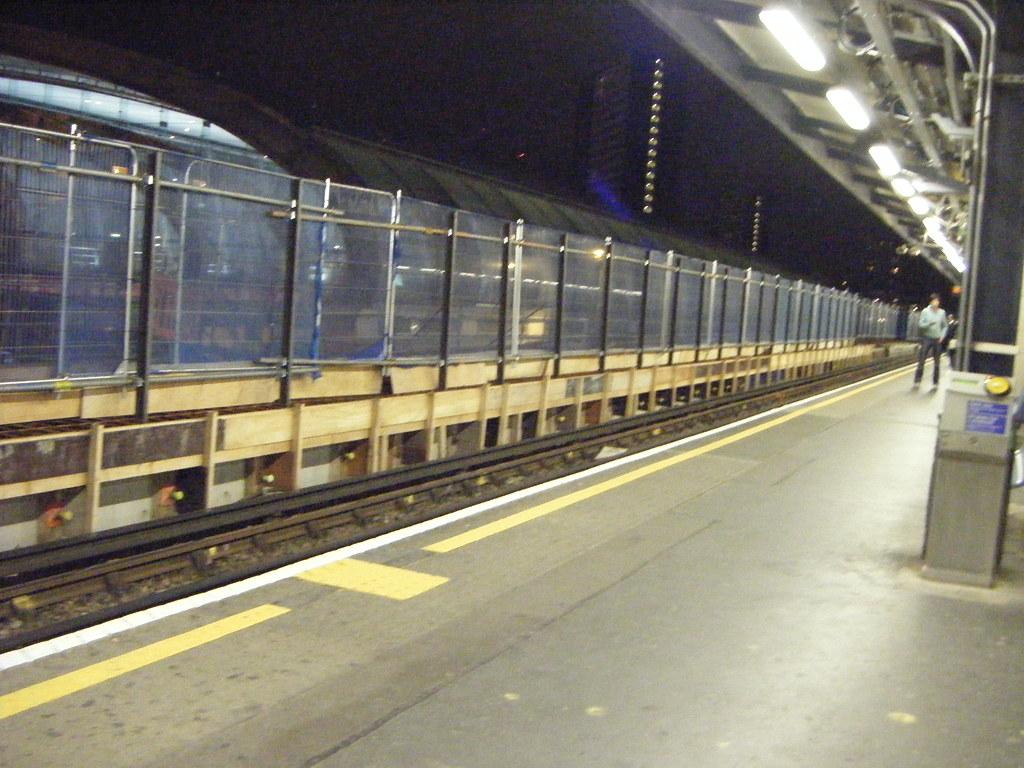 New Central Line Platform 4a