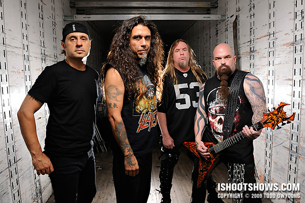 Portraits: Slayer for Rolling Stone