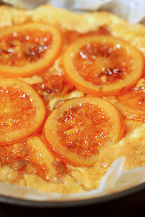 candied blood orange tart - cooked© by Haalo