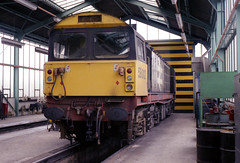 58012 Shirebrook 17.5.86 (D9006) Tags: railways britishrail class58 shirebrook 1000000trainsineurope