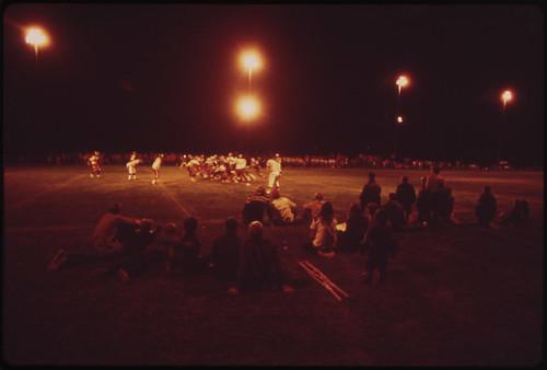 Rifle Versus Aspen High School Football Game 1972