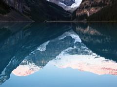 Lake Louise Sunrise 2 (gerry.bates) Tags: water sunrise reflections rockymountains lakelouise banffnationalpark mountainlandscape victoriaglacier mtlefroy photocontesttnc09