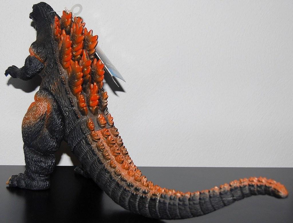 Bandai Godzilla 1995 [1995] Back