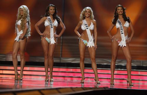 Runner-ups Miss Universe 2009