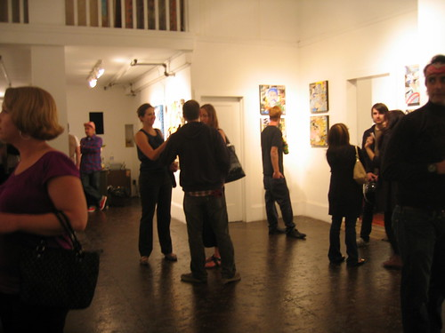 Shooting Gallery and White Walls, Art Reception, San Francisco, June 2009