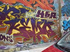 Ndg #1 (Kemoe AM K6A) Tags: wall graffiti montreal graff piece ndg kemo k6a kemoe