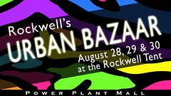 Don't miss Rockwell's Urban Bazaar on August 28-30!