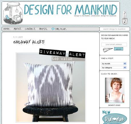 be still on design for mankind
