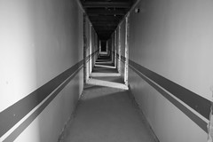 Corridor (scaryman2u) Tags: architecture hospital scotland ruin artdeco paisley derelict mentalhealth renfrewshire infectiousdiseases thomastait