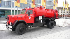 Magirus (Ilia Goranov) Tags: red classic car vintage germany deutschland retro vehicle magirus                shtuttgart