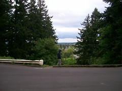 Lincoln St summit on Mount Tabor