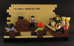 Career Advice No. 6: Judge (JETfri) Tags: lego judge advice mime tribunal career jury legovignette ffol