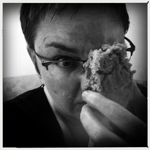 the last of my face-sized cookie