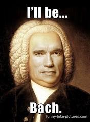 pun-funny-arnold-schwarzenegger-bach (BrainofJT) Tags: silly funny lol memes puns pundamentals