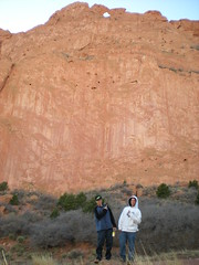 Marcus & Nick Below Kissing Camels Formation