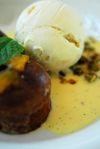 Mignonettes au pain d'epices et abricots, glace macadamia - DSC_3785