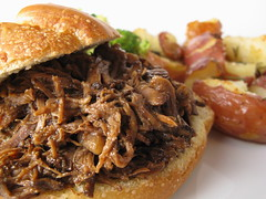Shredded Beef Sandw