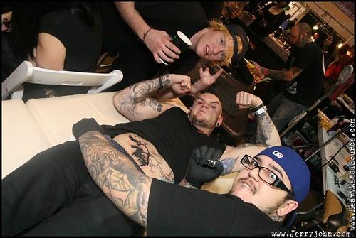 Tony (Absolute Tattoo) @ Musink