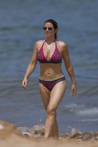 Sarah McLachlan in bikini
