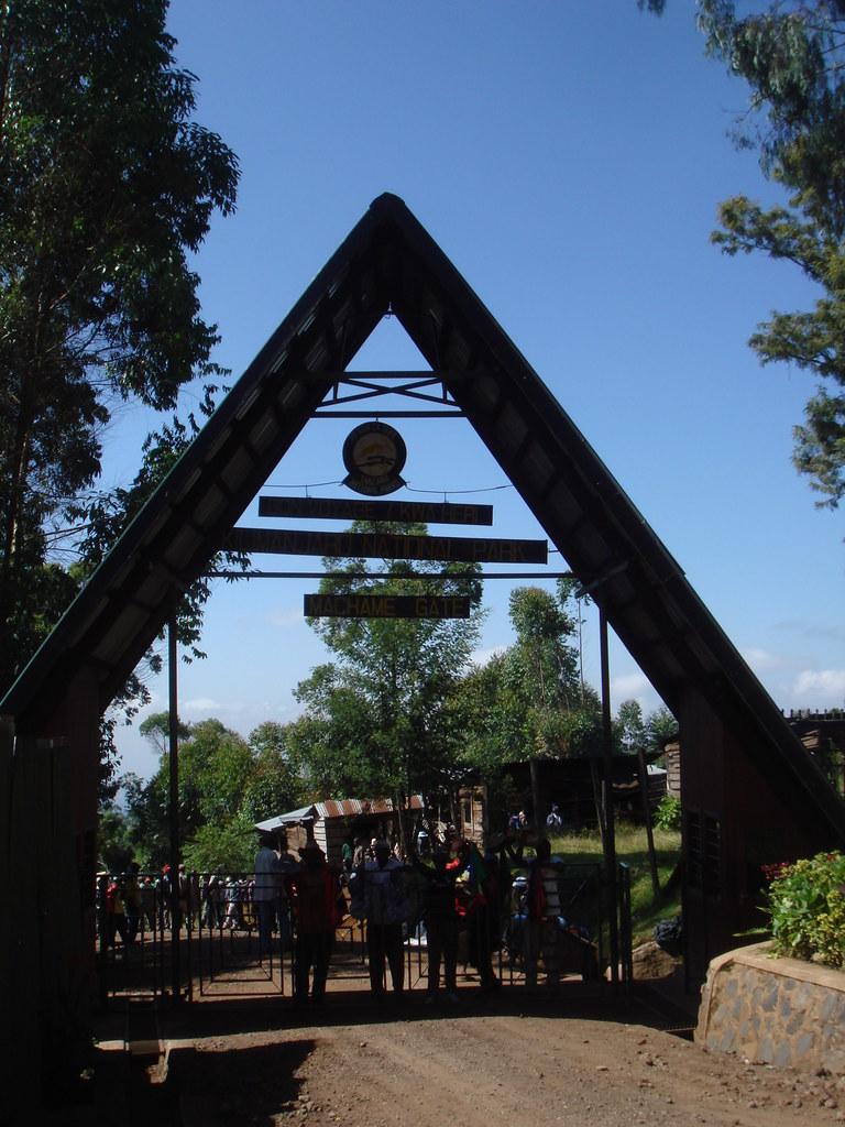 Mt Kilimanjaro National Park:  Machame Gate