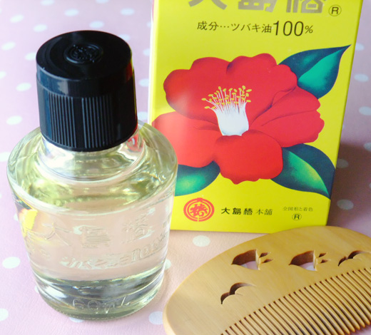 camellia (tsubaki) oil