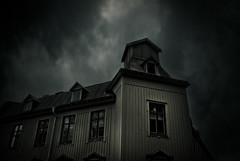 The evil landshvding (gothicburg) Tags: clouds dark gteborg sweden menacing gothenburg sverige lightroom landshvdingehus theresmostfunoverthetop lotsoffunwithphotoshop