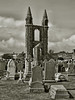 St Andrews Cathedral (Leo Reynolds) Tags: bw cemetery photoshop canon eos iso100 ruin duotone 30d 38mm f110 0004sec hpexif leol30random groupbw grouptwtme threadtwtme threadtwtme2mon groupsepiabw xleol30x xxx2009xxx xratio3x4x