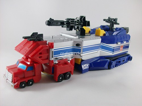 Transformers Star Convoy G1 - modo alterno