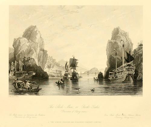 003-El Shih Mun o barrera de rocas provincia de Kang Nam