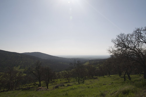 Its an amazing drive to come out of the Sierra Foothills and see the massive Central Valley spread out below.