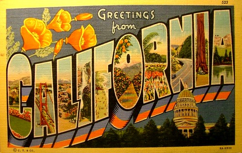 Vintage post card greetings from california a photo on flickriver vintage post card greetings from california m4hsunfo