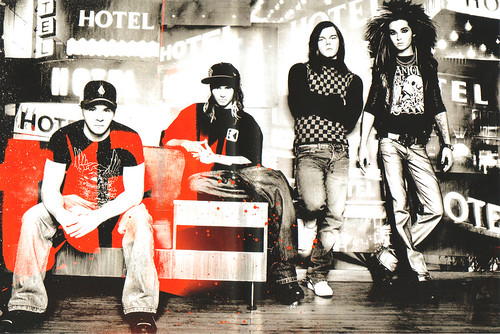 Tokio Hotel TV Caught on Camera Group Shot 3 por xamoramoro.