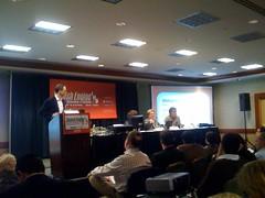Beyond Google Panel: John Marshall at podium.