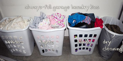 Laundry, laundry, and more laundry