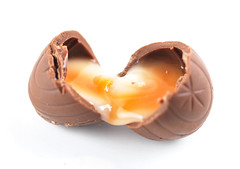 Cadbury Orange Creme Egg Open II