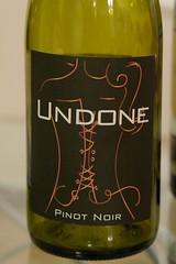 2007 Undone Pinot Noir