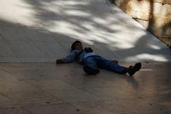 foto turista bambino lisbona