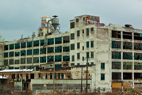 View from the Highway, Detroit, MI