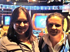Sarah and Megan 2009 Draft Room