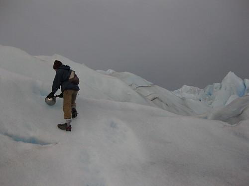 ice. Glaciar Perito Moreno