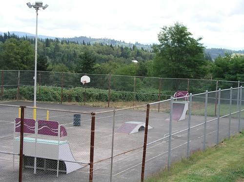 Corbett, Oregon skatepark