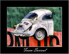 Surreal (Adriano Aquino) Tags: brazil muro car wall brasil volkswagen crash magic beetle surreal optical illusion madness carro volks legend hdr pernambuco parede iluso fusca lenda irreal surrealismo loucura bezerros mgica tica colourartaward
