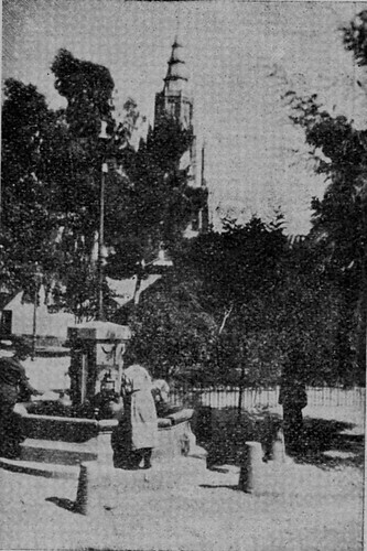 Plaza del Padre Juan de Mariana (Toledo) a principios del siglo XX