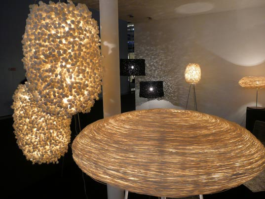 sustainable design, green design, milan furniture fair 2009, euroluce, energy efficient lighting, led lighting