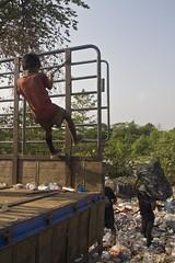 playing at work (allysepulliam) Tags: poverty children thailand kid garbage asia child burma refugees poor dump exploitation burmese childlabor maesot