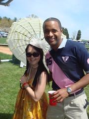 Bobbie and Jackie (choisauce) Tags: races 2009 foxfield