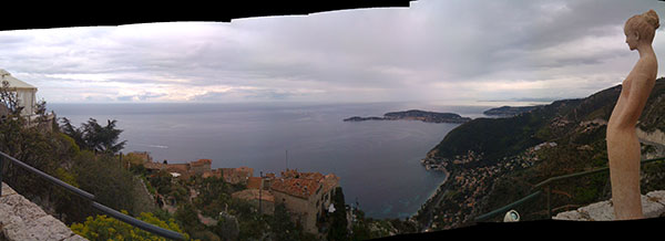 Panorama from Eze